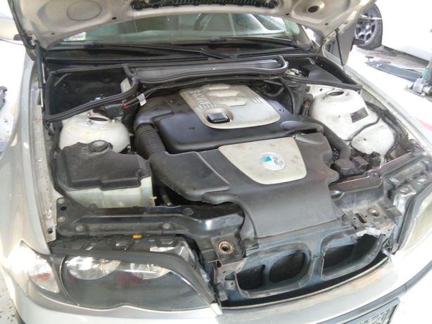 Kompletny silnik BMW E46 2.0d 150km polift