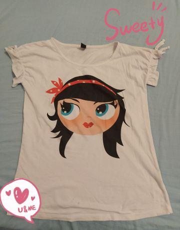 T-shirt boneca Zara Kids