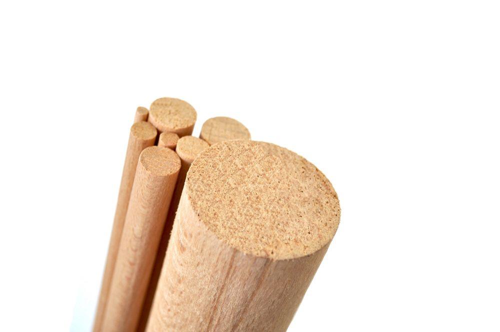 Kołki Drewniane Bukowe od 4mm do 50mm różne średnice | Drążki Bukowe Sopot - image 1