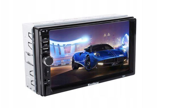 RADIO Samochodowe 2DIN BLUETOOTH 7' MirrorLink SD dotykowe