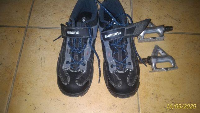 pedais PD-A550 para bicicleta (sapatos já vendidos)