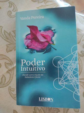 """Livro """"Poder Intuitivo"""" Vanda Pereira"""