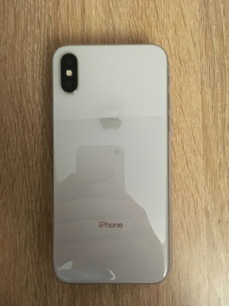 iPhone X 256 Gb Silver Neverlock 8/10