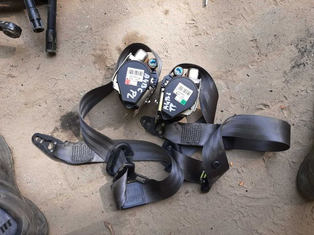 Pasy bezpieczeństwa przod lewy prawy szary siwy audi a4 b6 02r