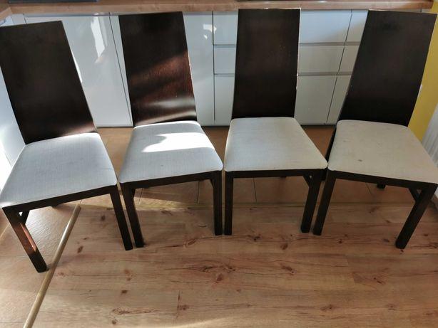 Krzesła drewniane 4 szt.