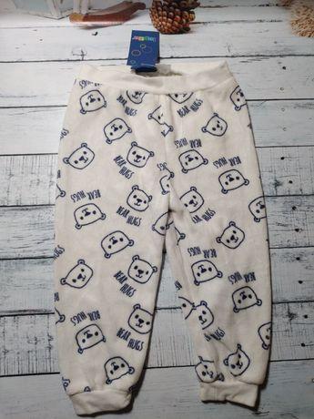 Махровые спортивные штаны с манжетами Bear hugs Lupilu р. 74-80