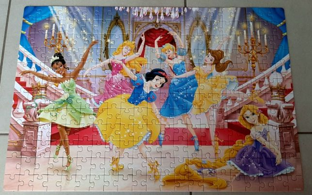 Lisciani puzzle dwustronne Księżniczki Disneya 250 elementów