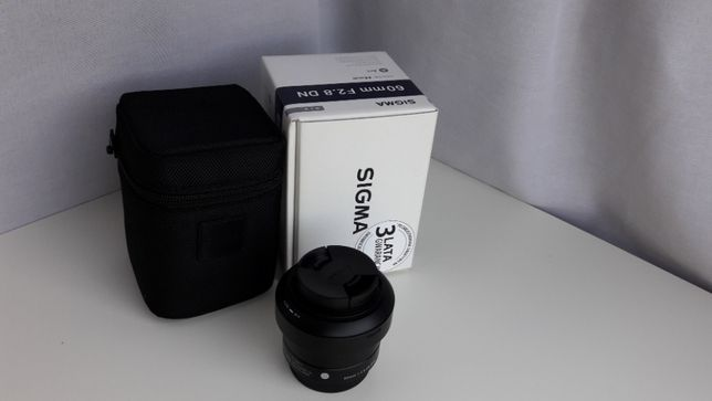 Obiektyw Sigma 60mm 2.8 m4/3 Olympus Panasonic Lumix