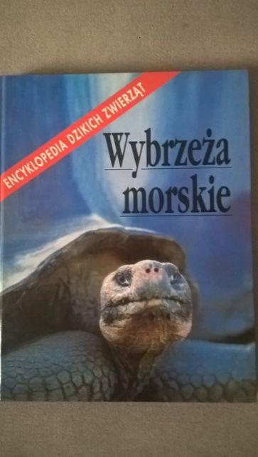 """Książka encyklopedia """"Wybrzeża Morskie"""""""
