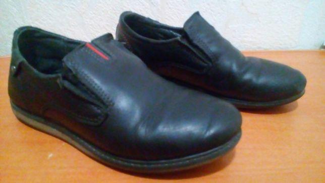 детские туфли кожаные