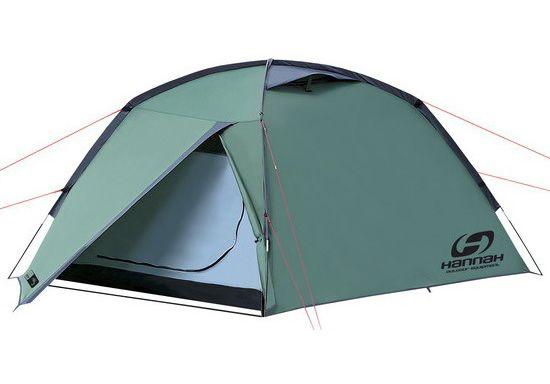 Трёхместная палатка Hannah Fest 3