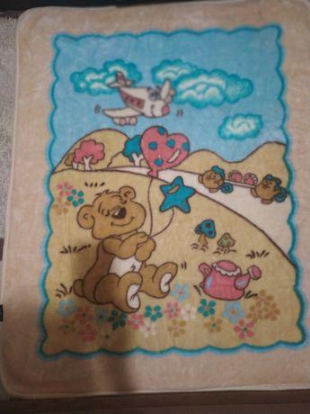Детское одеяло, плед