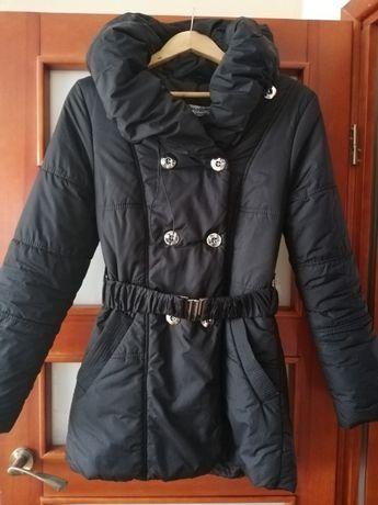 Kurtka zimowa płaszcz pikowana Mosquito, r. S czarna