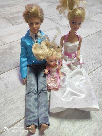 Barbie, Ken i córeczka