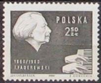 Znaczki polskie 1960-61 i 1964 stan** całe serie