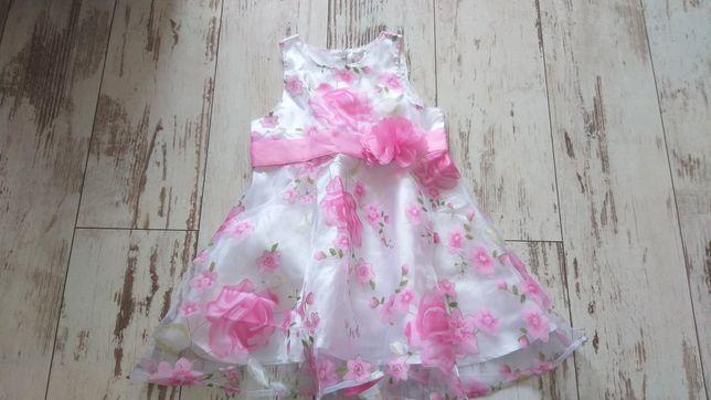 Sukienka dziewczeca nowa Bonprix 80