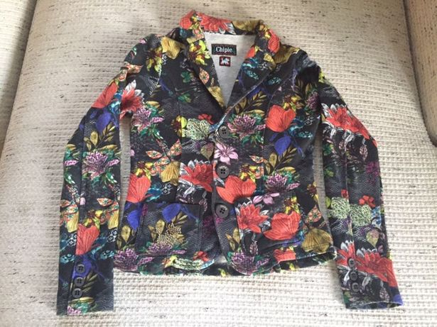 Нарядный пиджак кофта-трехнитка,Франция(Monnalisa, Blumarine)