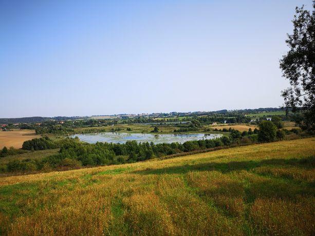 Działka w niedalekiej odległości jeziora Muntynek i jeziora Juksty