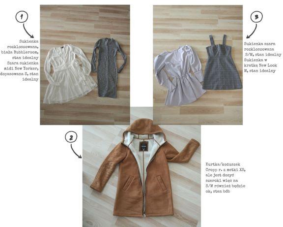 Mega paka zestaw ubrań H&M, Missguided i inne S