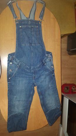 Spodnie ciążowe ogrodniczki