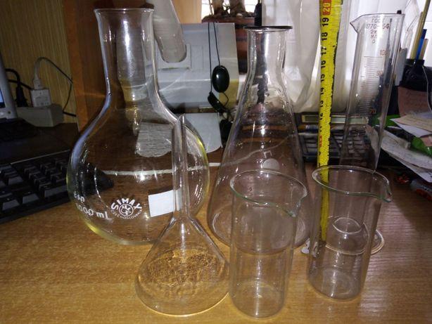 Лабораторная стеклянная посуда, производство СССР