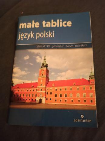 Książka małe tablice - polski