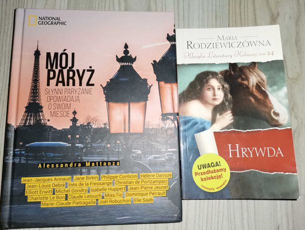 Książki: Mój Paryż...