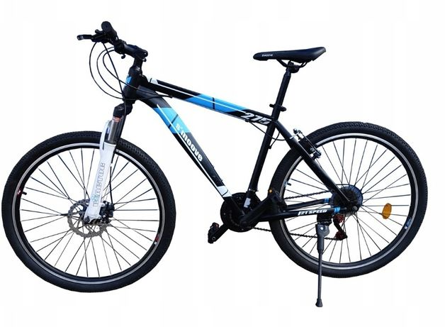"""Nowy Rower górski MTB 27,5"""" S'moove 275 czarno-niebieski"""