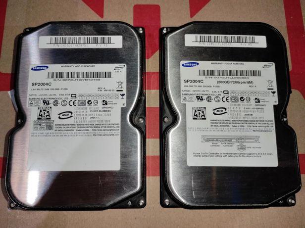 Жесткие диски Samsung SP2004C 200GB 7200RPM (пара)