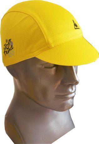 Czapeczka Kolarska Tour de France żółta
