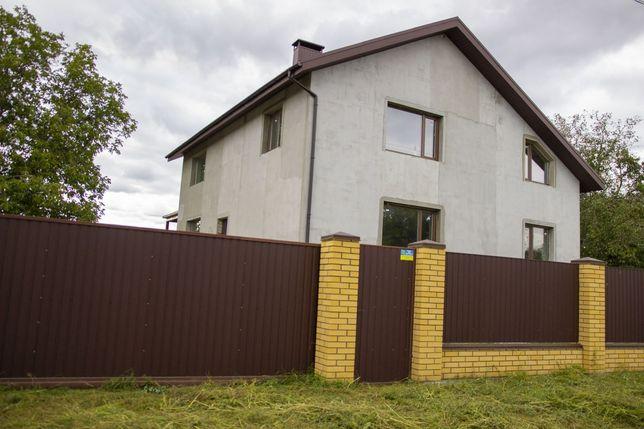 Продам новый дом - 283,4 кв. м в с. Хащевое, Новомосковского р-на!