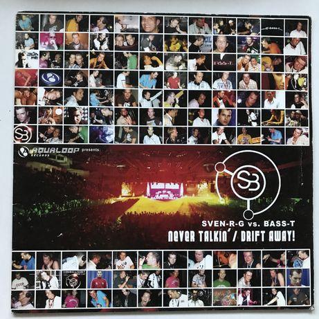SveN-R-G vs. Bass-T - Never Talkin' & Drift Away! (vinyl) dj, techno