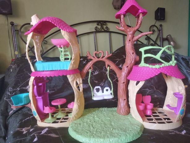 Domek leśny Enchantimals duży dla lalek Mattel