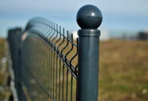 Ogrodzenie panelowe łukowe podmurówka montaż panele ogrodzeniowe brama