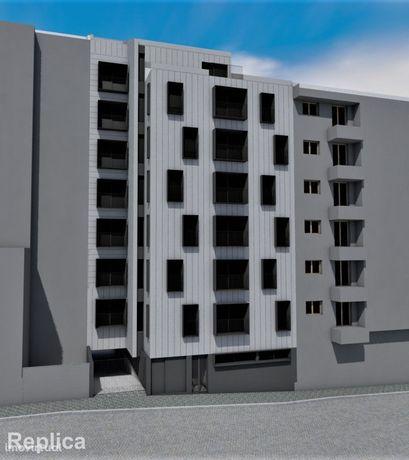 Apartamento T1, Novo, com varanda e lugar de garagem, no Porto