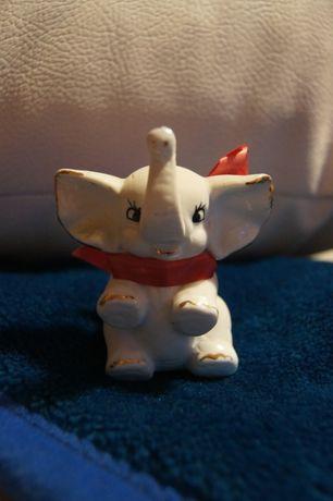 bialy slonik porcelanowy porcelana na szczescie słoń słonik figurka