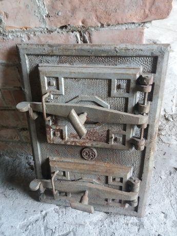 Drzwi do pieca kaflowego