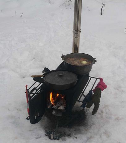 Печка для рыбаков и охотников!!!