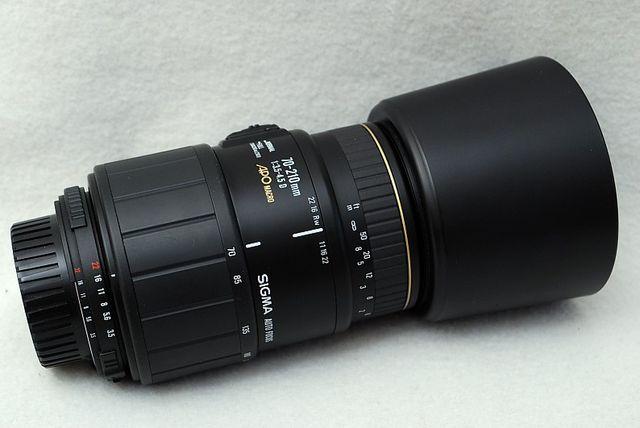 AF Sigma 70-210mm 1:3,5 - 4,5 D APO Macro - Stan'' IGŁA''