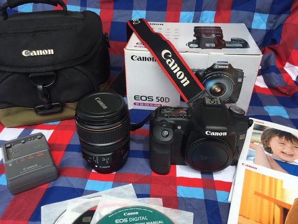 Canon EOS 50D + Obj. EF-S 17-85 IS + Saco Canon