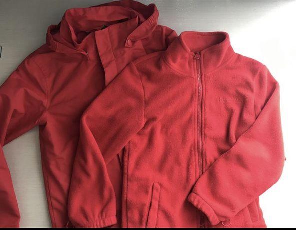 Фирменная куртка 2 в 1