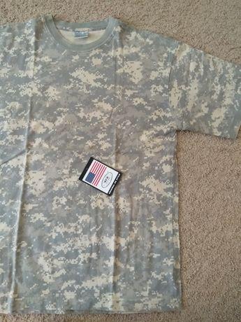 Тактическая футболка камуфляж пиксель Mil-tec Sturm L Xl