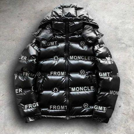 Пуховик Moncler Logo Stendhal Down Jacket