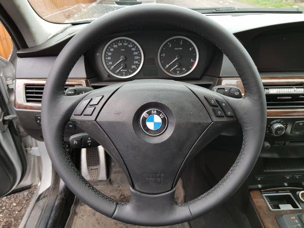 Kierownica Bmw E60 03-05 nowa skóra samochodowa