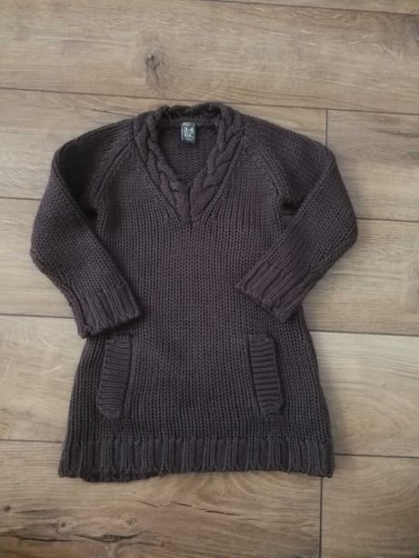 Sukienka ZARA, sweterkowa, 3-4lata, r.104
