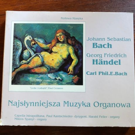 Perłowa Klasyka Najpiękniejsza Muzyka Organowa Bach Handel
