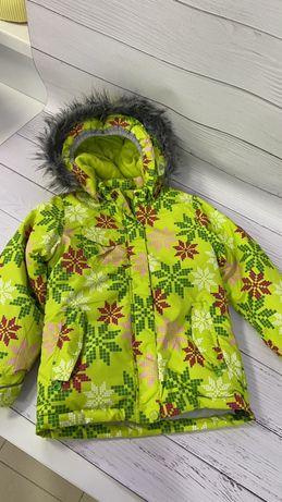 Детская лыжна куртка девочка