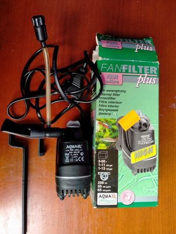 Filtr wewnętrzny FAN Mikro Plus Aquael 3-50L