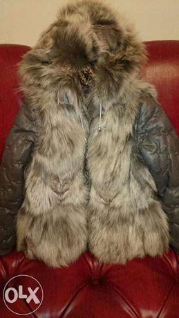 куртка из кожи (для девочек)