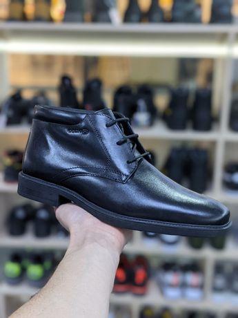 Ботинки мужские кожаные Geox 41,42,44, размера. Оригинал